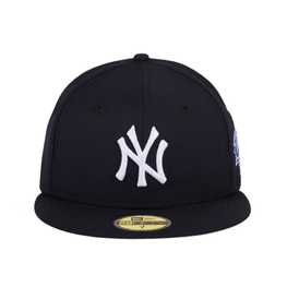 New Era 59Fifty New York Yankees 1998 World Series Patch Hat - Navy