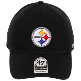 47 Brand Cleanup Pittsburgh Steelers OTC Adjustable Hat - Black
