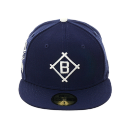 "Exclusive New Era 59Fifty Brooklyn Dodgers 1912 ""Ebbets Field"" Patch Hat - Royal"