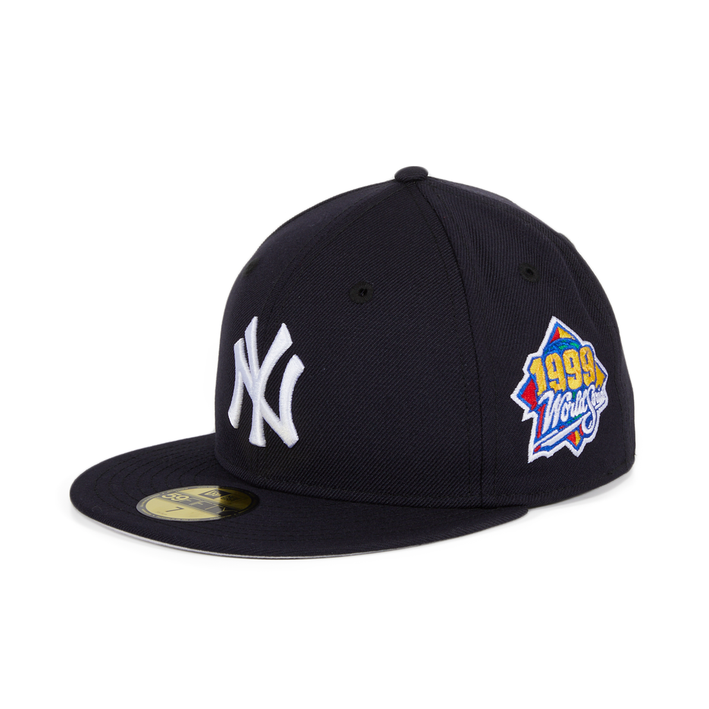 New Era New York Yankees World Series 1999 Hat - Navy – Hat Club 431d40cc14f