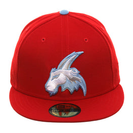 New Era 59Fifty Thrill SF Potrero Hill Goats Fitted Hat - Red