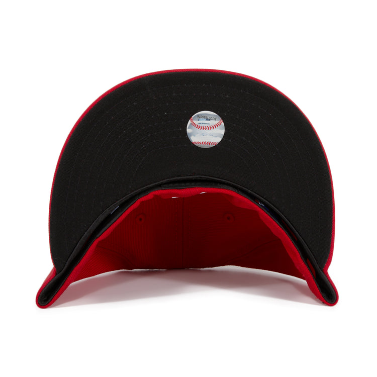 Exclusive New Era 59Fifty San Francisco Giants Hat - Red, Black