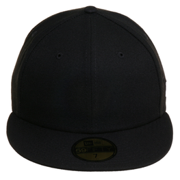 New Era 59Fifty Blank Fitted Hat - Black