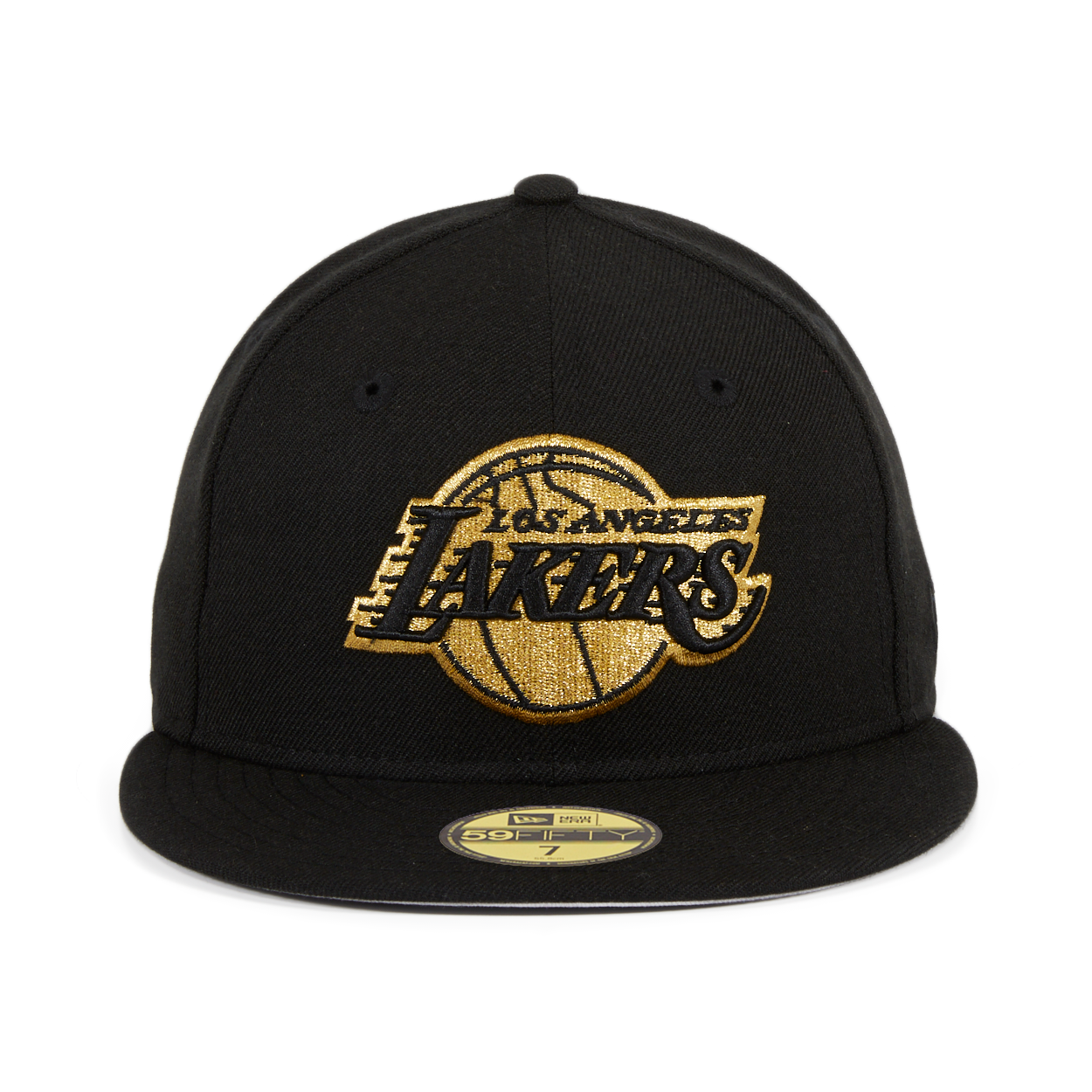 Exclusive New Era 59Fifty Los Angeles Lakers Hat - Black 6cac507b8b1