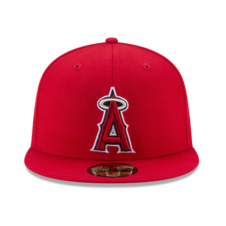 cheaper 02697 db647 New Era Authentic Collection Los Angeles Angels On-Field Fitted Game H – Hat  Club