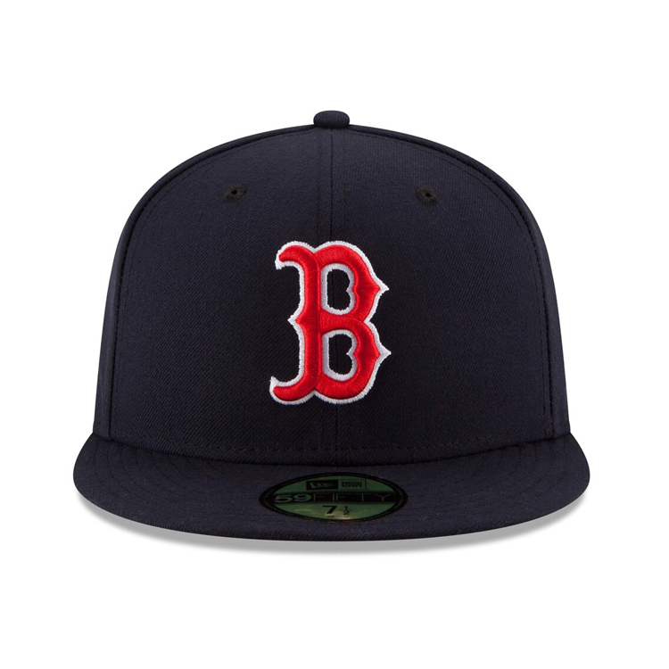 New Era 59Fifty Authentic Collection Boston Red Sox On-Field Game Hat - Navy