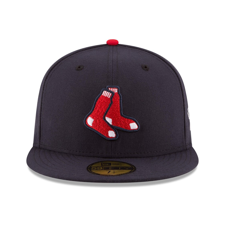 New Era 59Fifty Authentic Collection Boston Red Sox On-Field Alternate Hat - Navy