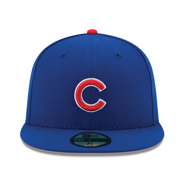 New Era 59Fifty Authentic Collection Chicago Cubs On-Field Game Hat - Royal