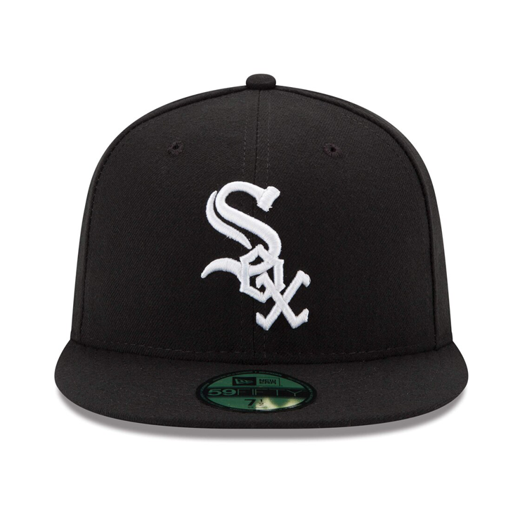 New Era 59Fifty Authentic Collection Chicago White Sox On-Field Game Hat - Black
