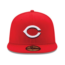 New Era Authentic Collection Cincinnati Reds On-Field Home Fitted Hat
