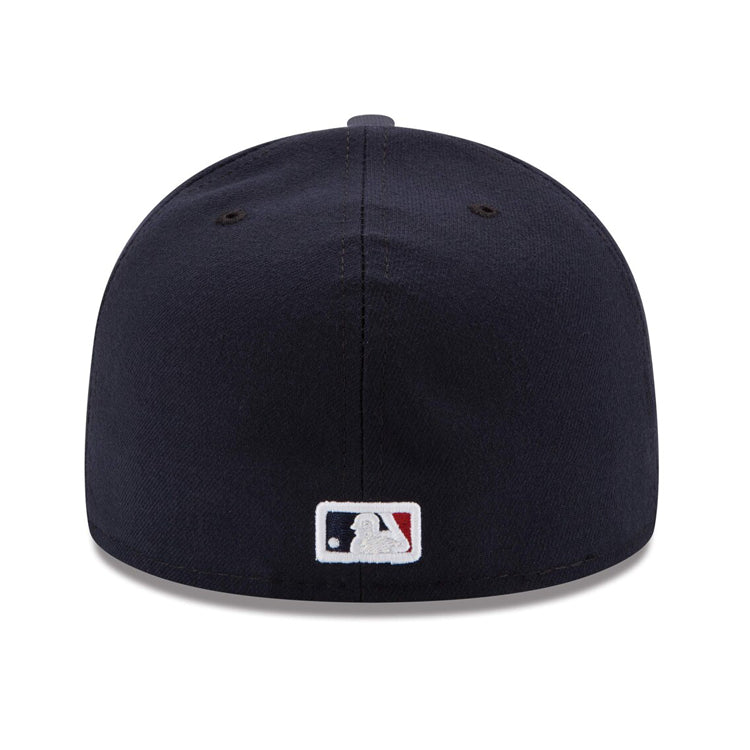 New Era Authentic Collection Cleveland Indians On-Field Road Fitted Hat