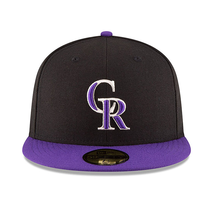 new style 14986 da4ca New Era Authentic Collection Colorado Rockies On-Field Alternate Hat – Hat  Club