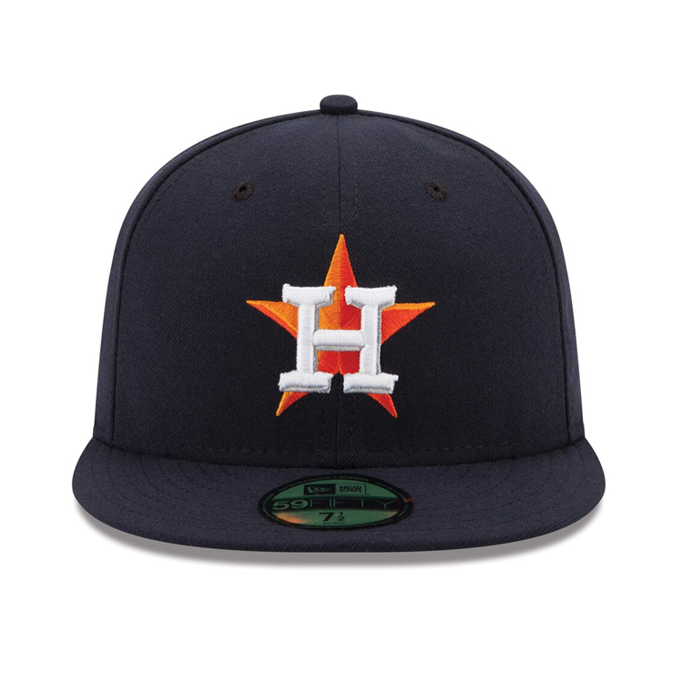 New Era 59Fifty Authentic Collection Houston Astros On-Field Home Hat - Navy