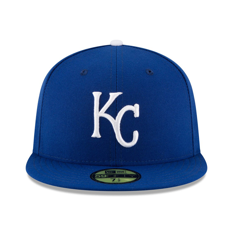 New Era 59Fifty Authentic Collection Kansas City Royals On-Field Game Hat - Royal
