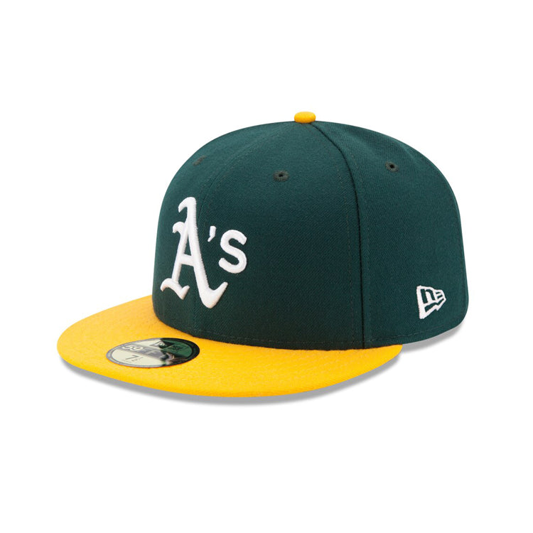 New Era Authentic Collection Oakland Athletics On-Field Fitted Home Hat