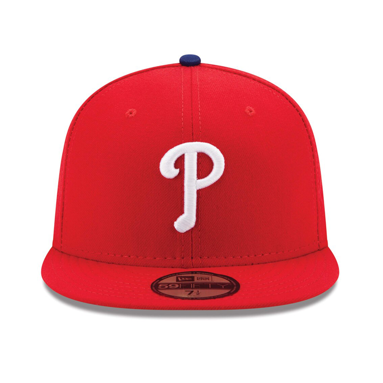 New Era Authentic Collection Philadelphia Phillies On-Field Game Hat - Red