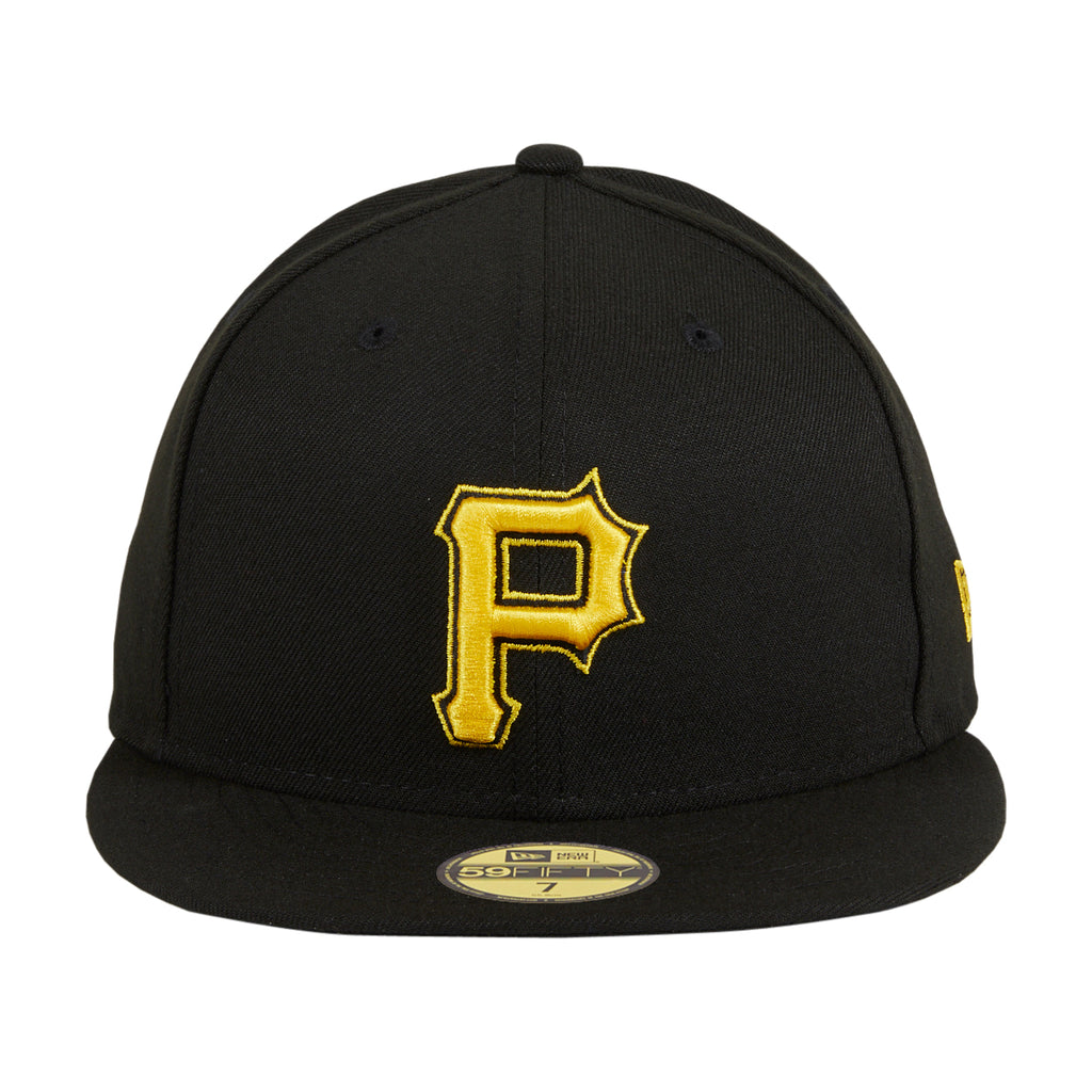 Authentic Collection New Era 59Fifty Pittsburgh Pirates Alternate 2 Hat - Black