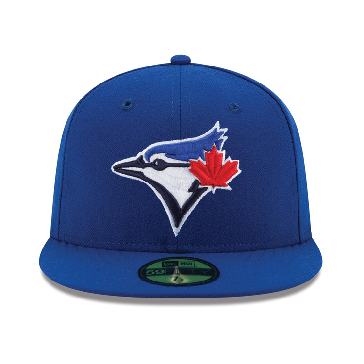 New Era Authentic Collection 59Fifty Toronto Blue Jays On-Field Game Hat - Royal