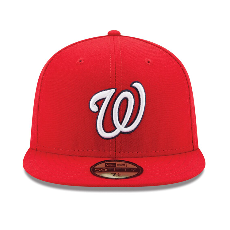 New Era Authentic Collection Washington Nationals Fitted On-Field Game Hat