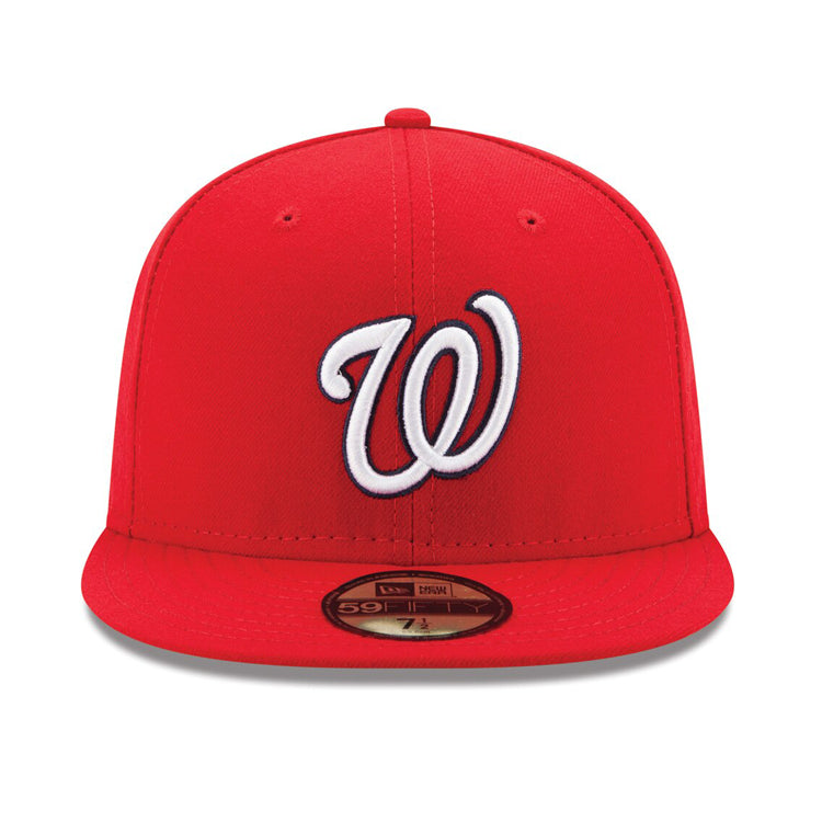 premium selection 0a845 96c11 New Era Authentic Collection Washington Nationals Fitted On-Field Game – Hat  Club