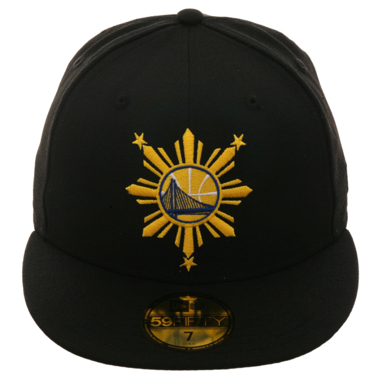 3c706002 Exclusive New Era 59Fifty Golden State Warriors Filipino Heritage Hat -  Black, Gold
