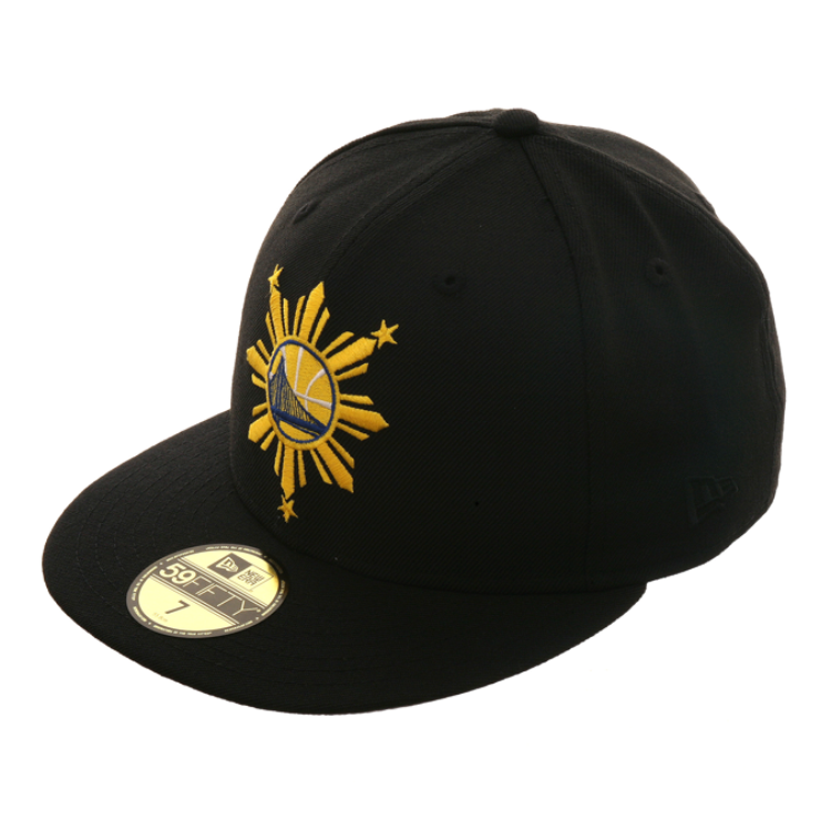 Exclusive New Era 59Fifty Golden State Warriors Filipino Heritage Hat – Hat  Club f0686fda0d94