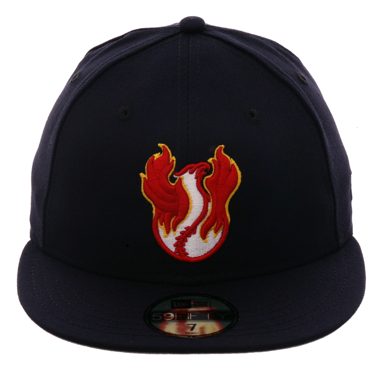 Exclusive New Era 59Fifty Phoenix Firebirds Hat - Navy