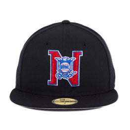 Exclusive New Era 59Fifty National League Umpire Eagle Hat - Navy