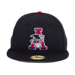 Exclusive New Era 59Fifty American League Umpire Eagle Hat - Navy