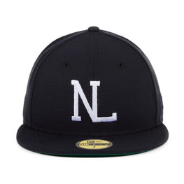Hat Club Exclusive New Era 59Fifty NL League Fitted Hat - Navy