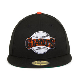 Exclusive New Era 59Fifty San Francisco Giants 1983 Word Hat - Black