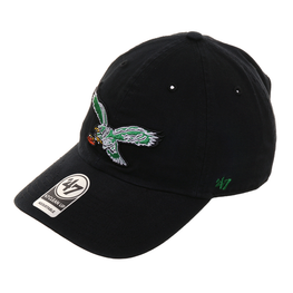 47 Brand Cleanup Philadelphia Eagles 1987 Adjustable Hat - Black