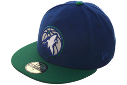 Minnesota Timberwolves Alternate Exclusive New Era 59Fifty - 2T Royal, Kelly Green