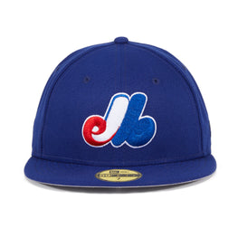 Exclusive New Era 59Fifty Montreal Expos Game Hat - Royal