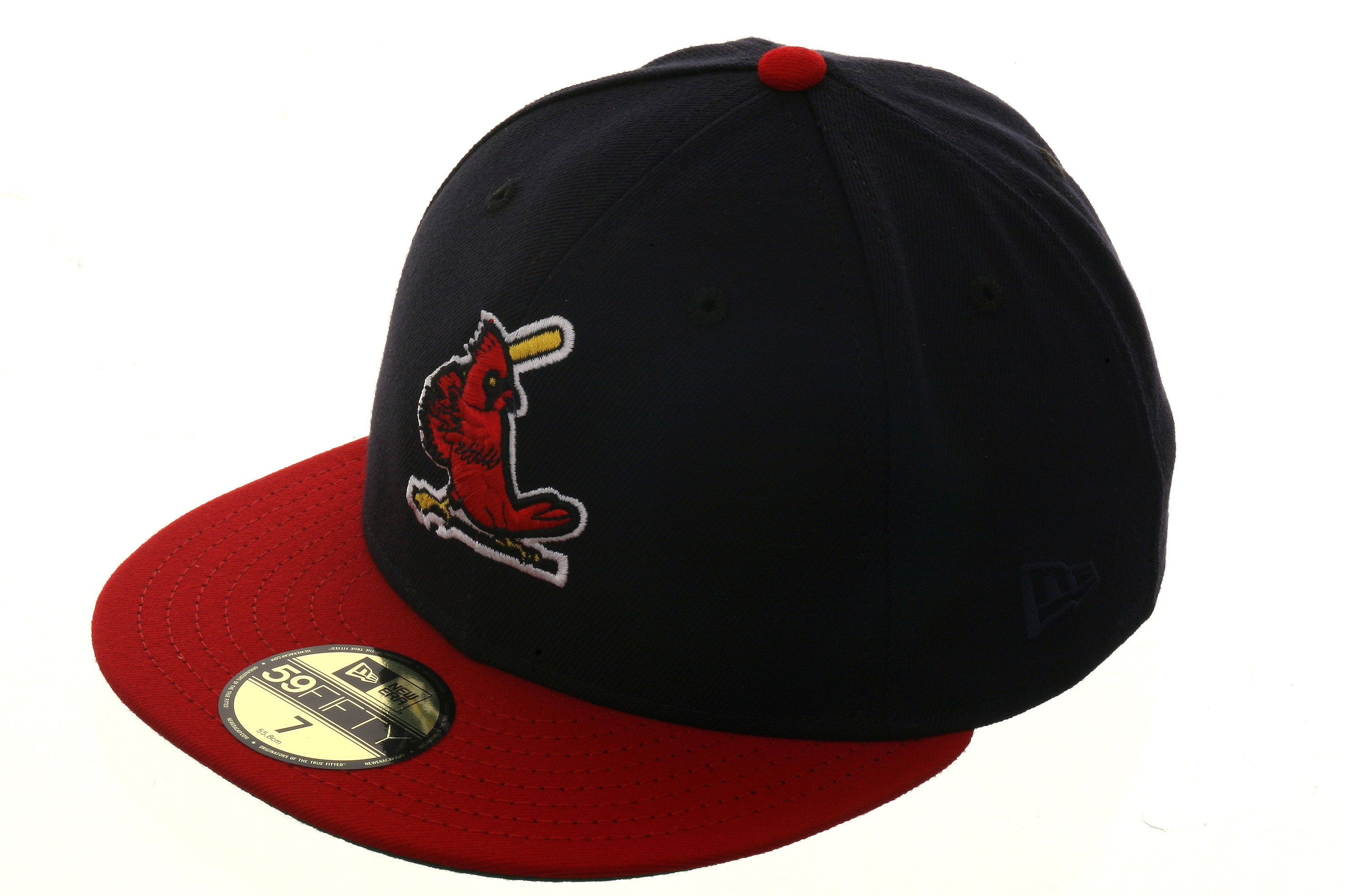 St. Louis Cardinals 1967 Exclusive New Era 59Fifty Hat - 2T Navy, Red