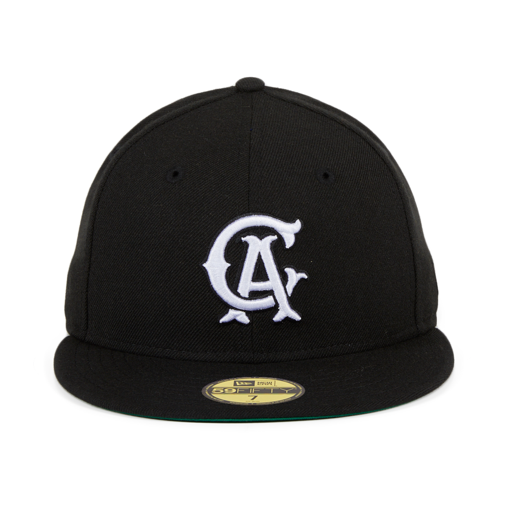 Exclusive New Era 59Fifty Los Angeles Angels CA Hat - Black, White