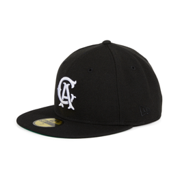 Exclusive New Era 59Fifty Los Angeles Angels CA Hat - Black , White