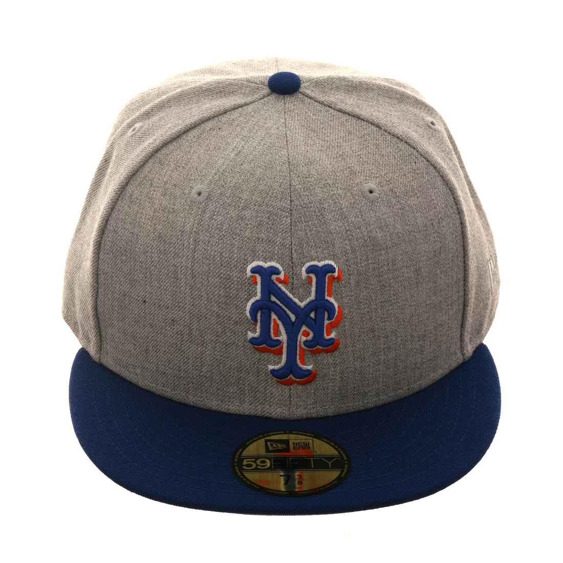 huge discount bbe21 94fa4 ... order exclusive new era 59fifty new york mets hat 2t heather gray royal  695ca 5c4d2