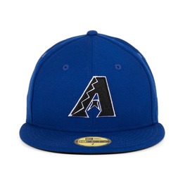 Exclusive New Era 59Fifty Arizona Ddbacks A Hat - Royal Blue, Black, White