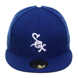 Exclusive New Era 59Fifty Chicago White Sox 1969 Hat - Royal