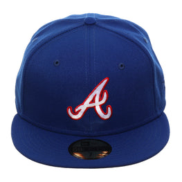 Exclusive New Era 59Fifty Atlanta Braves 1981 Hat - Royal