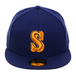 Exclusive New Era 59Fifty Seattle Mariners 1987 Hat - Royal