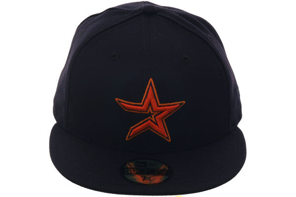 Exclusive New Era 59Fifty Houston Astros 2000 Hat - Navy