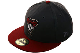 Exclusive New Era Arizona Diamondbacks Snakehead Hat - 2T Graphite, Sedona Red