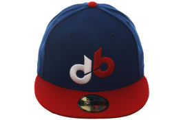 Exclusive New Era 59Fifty Denver Bears Hat - 2T Royal, Red