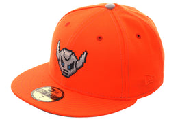 Exclusive New Era 59Fifty Dionic Battlebot Hat - Orange