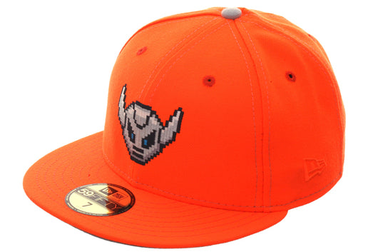 209e16a1582 Exclusive New Era 59Fifty Dionic Batlebot Hat - Orange – Hat Club