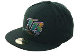 Exclusive New Era 59Fifty Tampa Bay Devil Rays 1998 Hat - Green