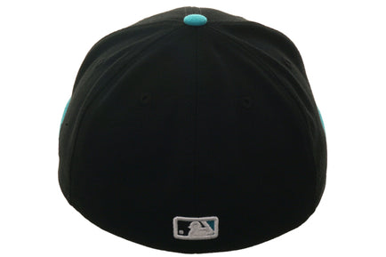 Exclusive New Era Arizona Diamondbacks Hat - 2T Black, Teal