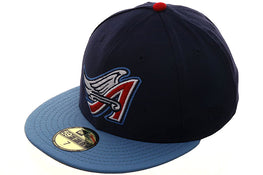 Exclusive New Era Los Angeles Angels 1997 Hat - 2T Light Navy, Light Blue